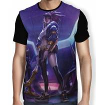Camisa FULL Akali K/DA - League of Legends