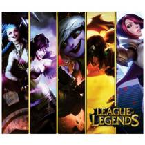 Mouse Pad - GIRLS - League of Legends