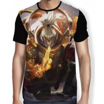 Camisa FULL Jax Cajado Divino - League of Legends