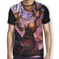 Camisa FULL Vayne fogos de artificio - League of Legends