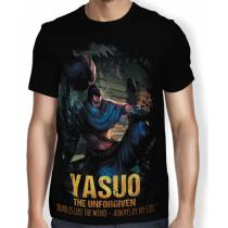 Camisa FULL Unforgiven Yasuo - League of Legends