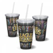 Copo Acrilico LOL Logo - League of Legends