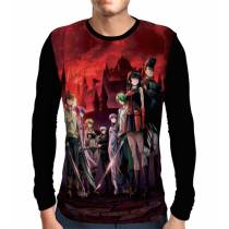 Camisa Manga Longa Night Raid - Akame Ga Kill