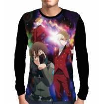 Camisa Manga Longa  Klancain, Kaizuka, Slaine - Aldnoah Zero
