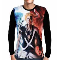 Camisa Manga Longa Ichigo Hollow - Bleach