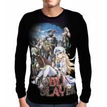 Camisa Manga Longa Adventurers Guild - Goblin Slayer