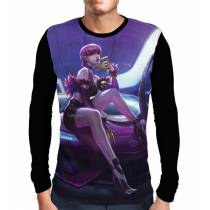 Camisa Manga Longa Evelynn K/DA - League Of Legends