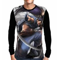 Camisa Manga Longa Yasuo - League Of Legends