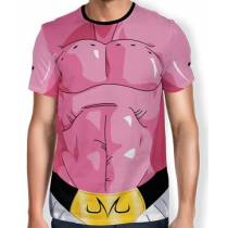 Camisa Full Print Uniforme - Majin Boo Completo - Dragon ball