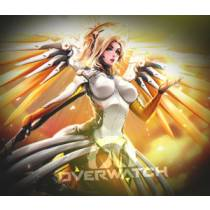 Mouse Pad - Mercy - Overwatch