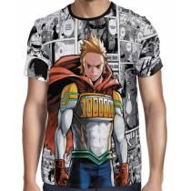 Camisa Full PRINT Mangá Mirio Togata - Boku No Hero Academia