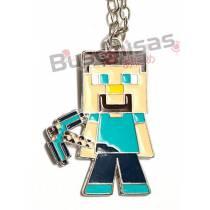 MN-13 - Colar Steve Minecraft