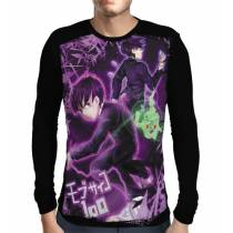 Camisa Manga Longa Mob Fight - Mob Psycho 100