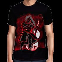 Camisa FULL Madara Minimalista - Naruto Shippuden