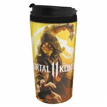 Copo Térmico Scorpion - Mortal Kombat 11