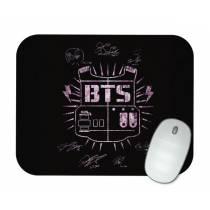 Mouse Pad - BTS - Logo Clássica Cherry Blossom - K-Pop