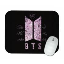 Mouse Pad - BTS - Logo Nova Cherry Blossom - K-Pop