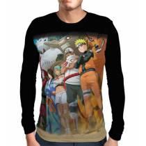 Camisa Manga Longa Sennin Beasts - Naruto