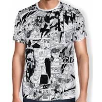 Camisa FULL Print Manga Especial - Naruto