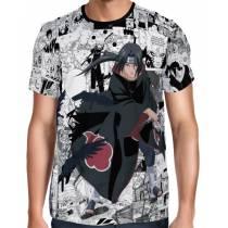 Camisa FULL Print Manga Itachi - Naruto