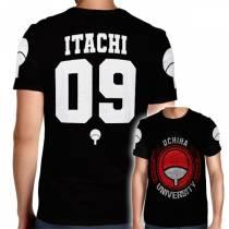 Camisa Full PRINT Uchiha University - Itachi - Naruto