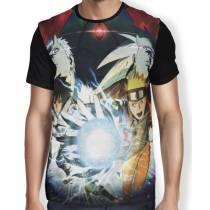 Camisa FULL Jutsu Madara Sasuke Naruto