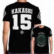 Camisa Full PRINT Hatake University - Kakashi - Naruto