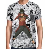 Camisa FULL Print Mangá Hashirama Modelo 2 - Naruto
