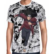 Camisa FULL Print Mangá Hashirama - Naruto