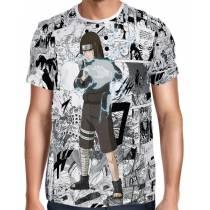 Camisa FULL Print Mangá Neji Hyuga Modelo 3 - Naruto