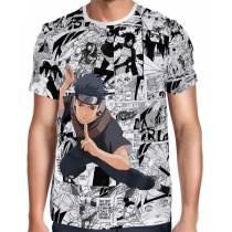 Camisa FULL Print Mangá Shisui Uchiha - Naruto
