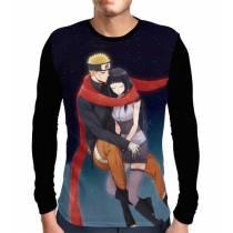 Camisa Manga Longa The Last Hinata e Naruto - Naruto