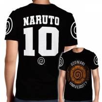 Camisa Full PRINT Uzumaki University - Naruto