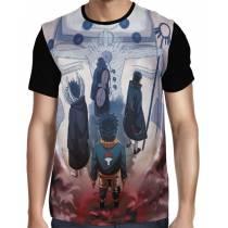 Camisa FULL Obito - Tobi - Rin - Naruto