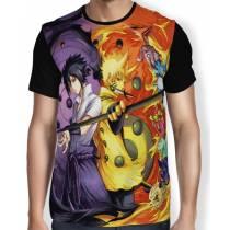 Camisa FULL Rikudou Naruto Sasuke