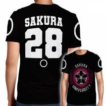 Camisa Full PRINT Sakura University - Sakura - Naruto
