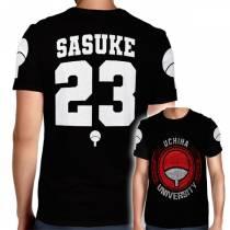 Camisa Full PRINT Uchiha University - Sakuke  - Naruto