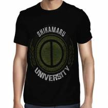 Camisa FULL Shikamaru University - Só Frente - Naruto