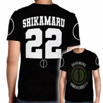Camisa Full PRINT Shikamaru University - Shikamaru - Naruto