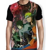 Camisa FULL Time 7- Sasuke - Sakura - Naruto