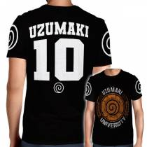 Camisa Full PRINT Uzumaki University - Uzumaki Naruto