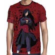 Camisa FULL Print Red Mangá Naruto - Madara