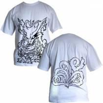 Camisa Naruto - Kyuubi Modelo 01 - Des. Preto