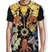 Camisa FULL Raposas - Naruto