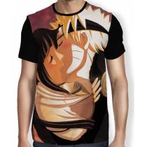 Camisa FULL Beijo Hinata e Naruto