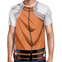 Camisa Full Print Uniforme Naruto Nanadaime Seventh Hokage - The Last