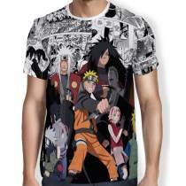 Camisa FULL Print Manga Naruto Shippuden