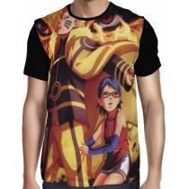 Camisa FULL Seventh Hokage - Sarada - Naruto