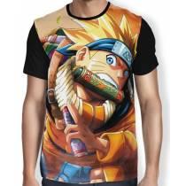 Camisa FULL Running Naruto - Naruto