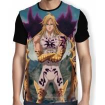 Camisa Full Meliodas Rei dos Demonios - Nanatsu no Taizai